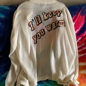 Wildfox I'll Keep You Warm cardigan